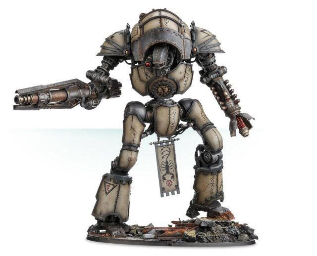 An Imperial Knight Or Questor Imperialis In High Gothic Is A Type Of Combat Walker The