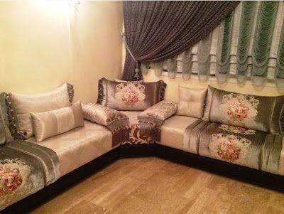 Top Salon 2017 صالونات مغربية تقليدية بلمسة عصرية جديد موديلات الصالون المغربي Moroccan Home Decor Moroccan Living Room Dream House Decor