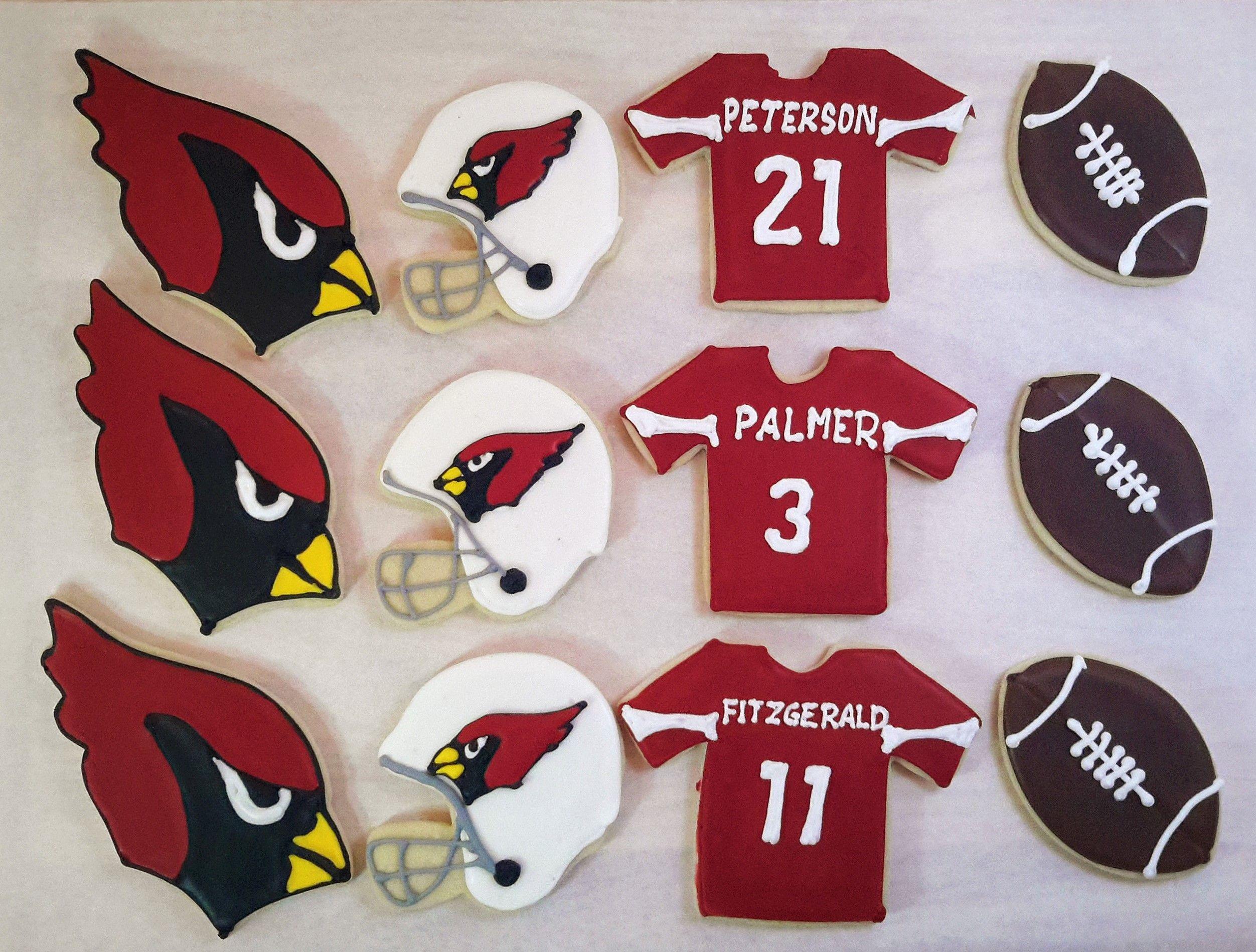 0792b2e9 Arizona Cardinals sugar cookies. Go Cards! | Arizona Cardinals ...