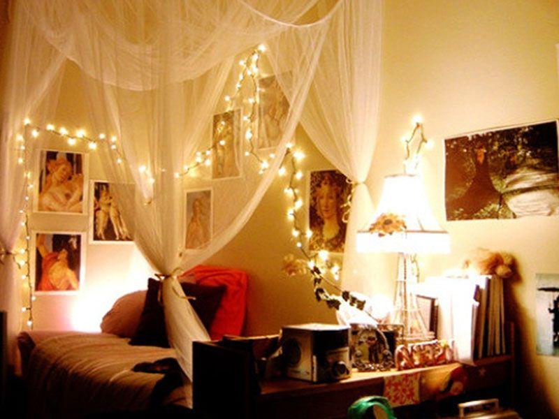 Rope Light Bedroom