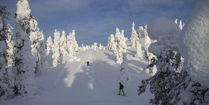 Winter sports, Lapland, Finland