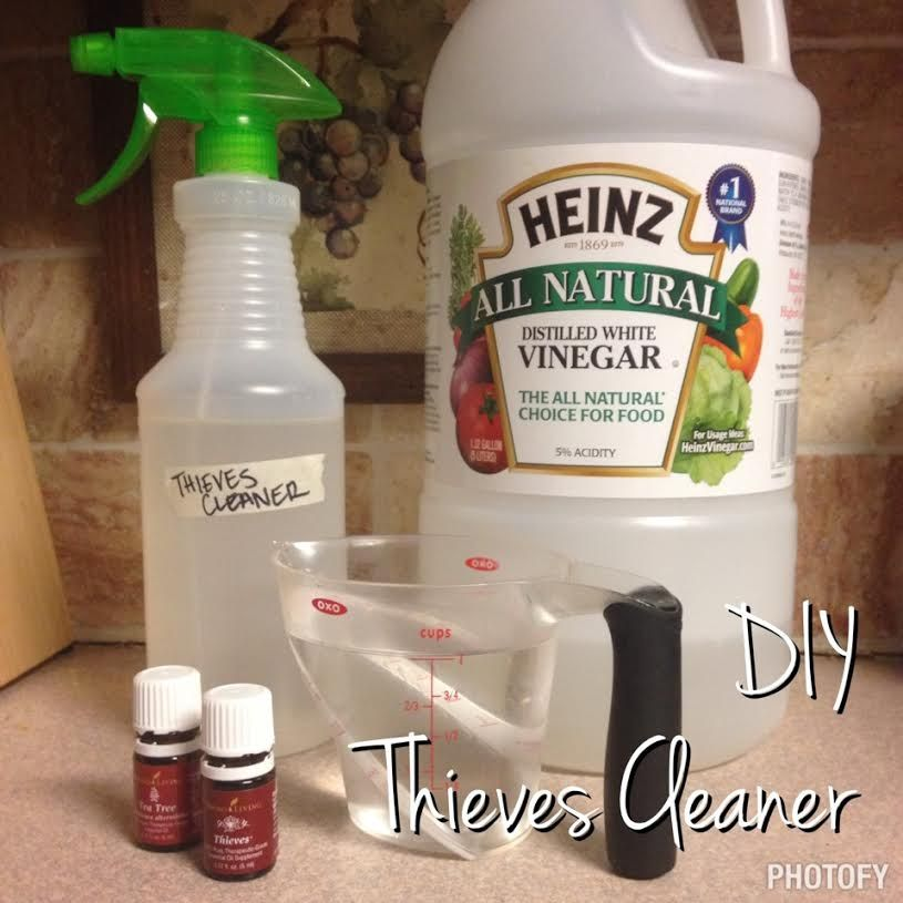 The Lysol Vs Thieves Experiment And A Diy Thieves Cleaner Recipe