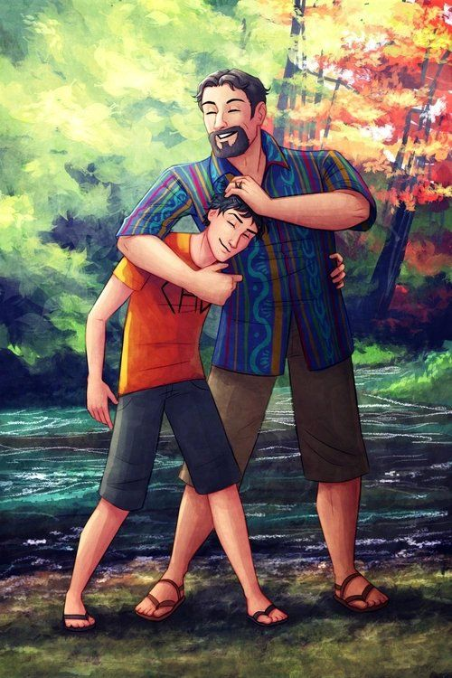 """↬ARTEMIS↫ on Twitter: """"#HappyFathersDay Percy and Poseidon @camphalfblood  https://t.co/3Sr8HGF2we"""""""
