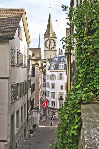 """Zurich: The Greatness of Small"" Fun article about what to see and do in Zurich and why it's a wonderful city."