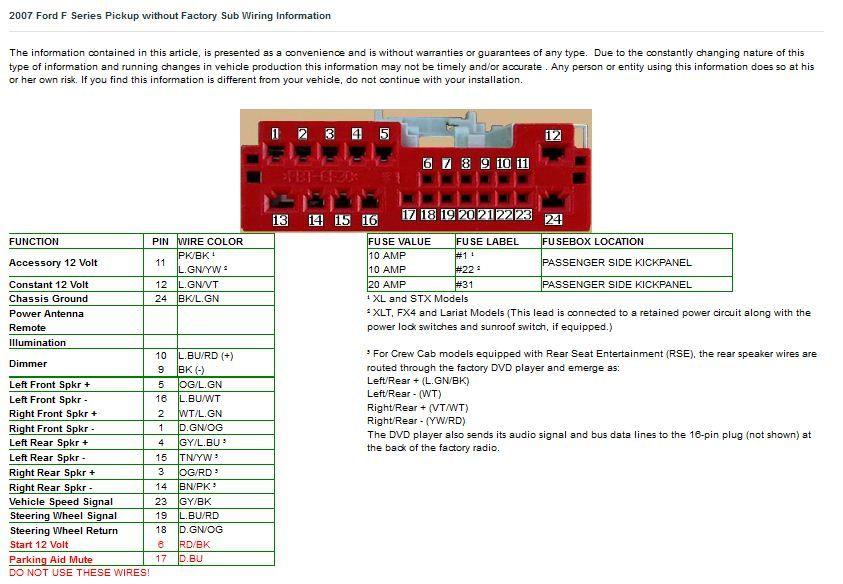 2005 ford focus stereo wiring diagram  110v plug wiring