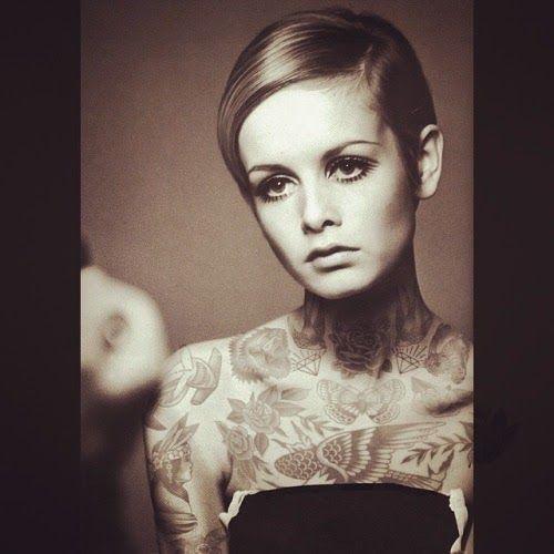 Classic Beauties, Tattooed - by Cheyenne Randall