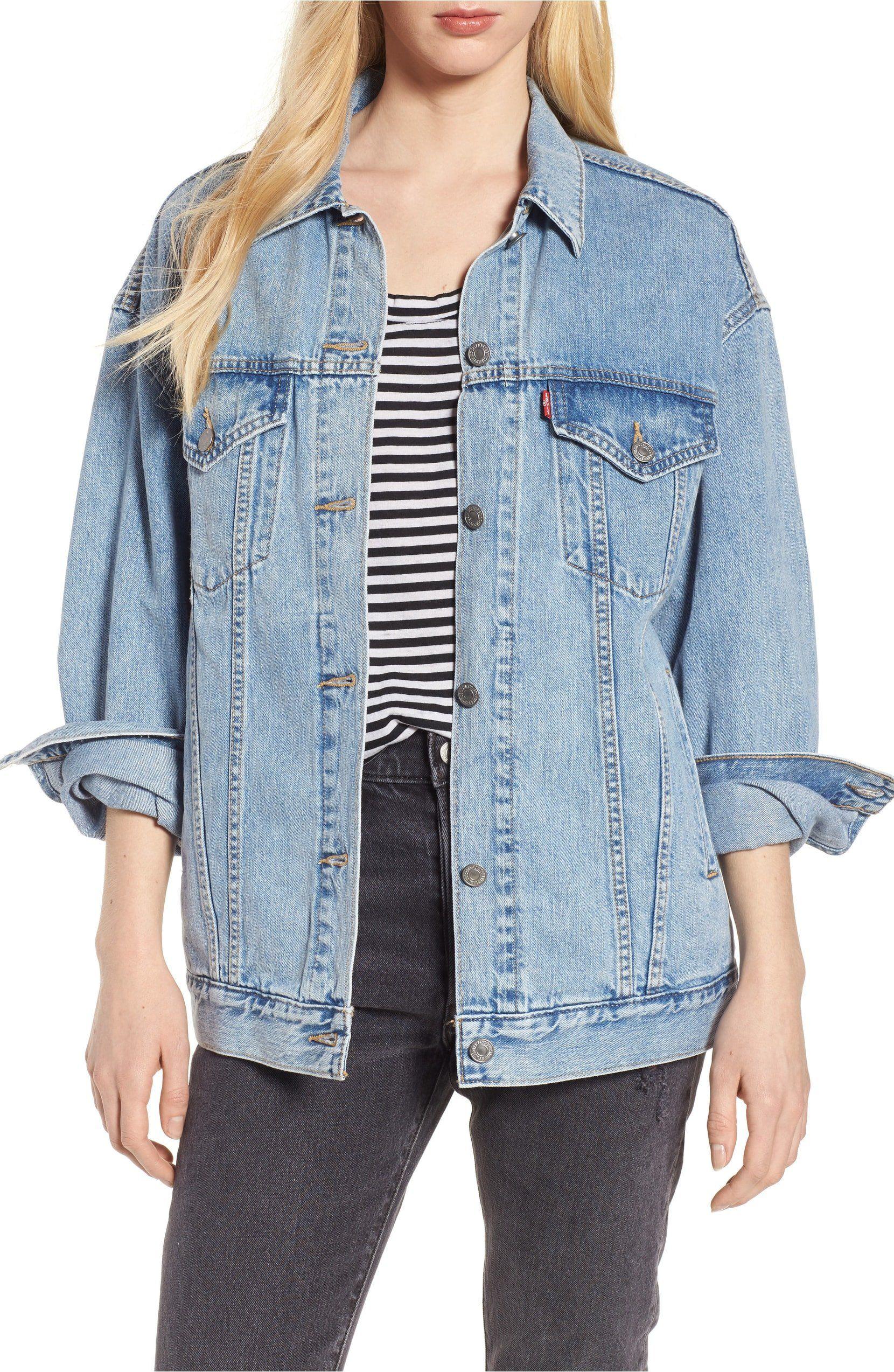 I Finally Found A Comfortable Denim Jacket That Isn T Stiff And It S Less Than 100 Denim Jacket Denim Jacket Women Jackets [ 2547 x 1660 Pixel ]
