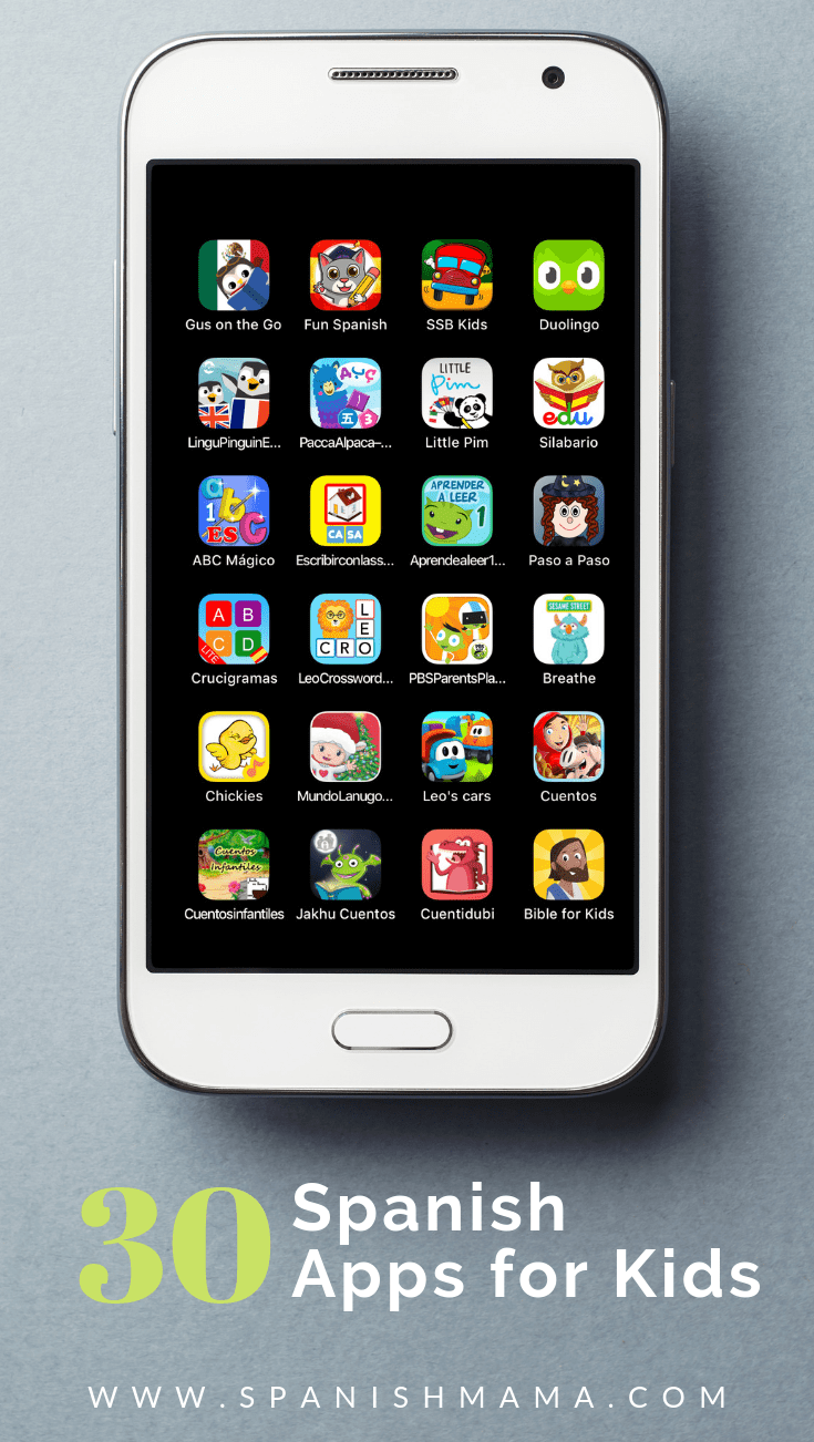 The Top Spanish Apps for Kids in 2019 Spanish for Kids
