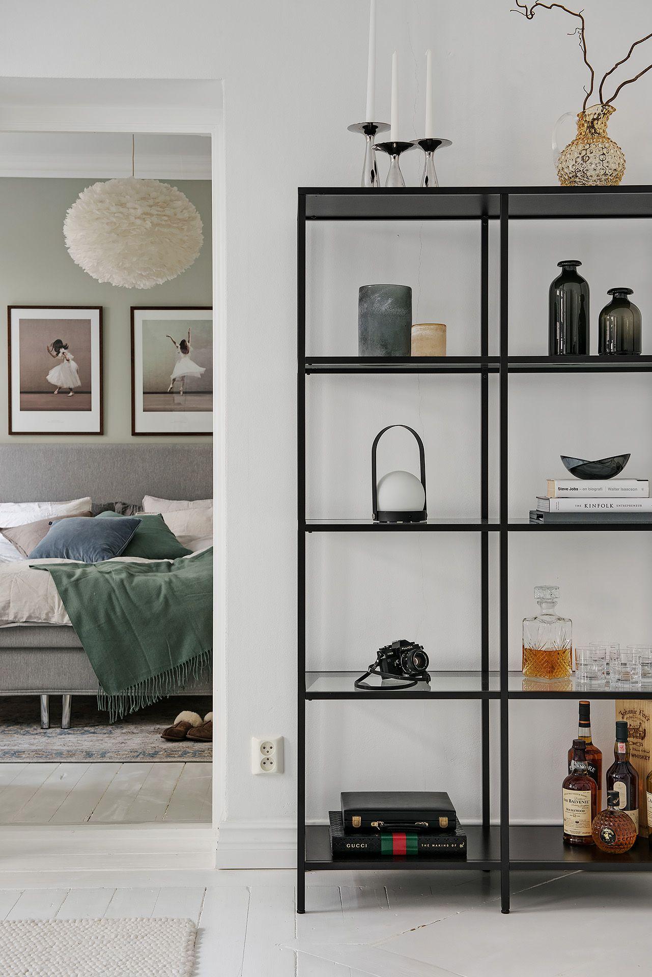Wonderbaarlijk Ikea 'Vittsjö' shelf | Closets - Woonkamer inrichting, Kast LY-46