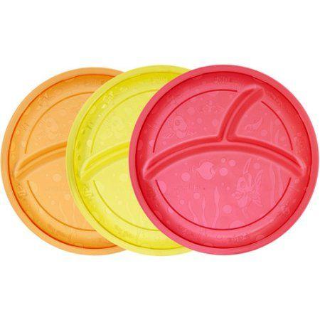 Baby 18Pc Ellie Kids Break-Resistant Plastic Tumblers Bowls /& Plates In 6 Colors