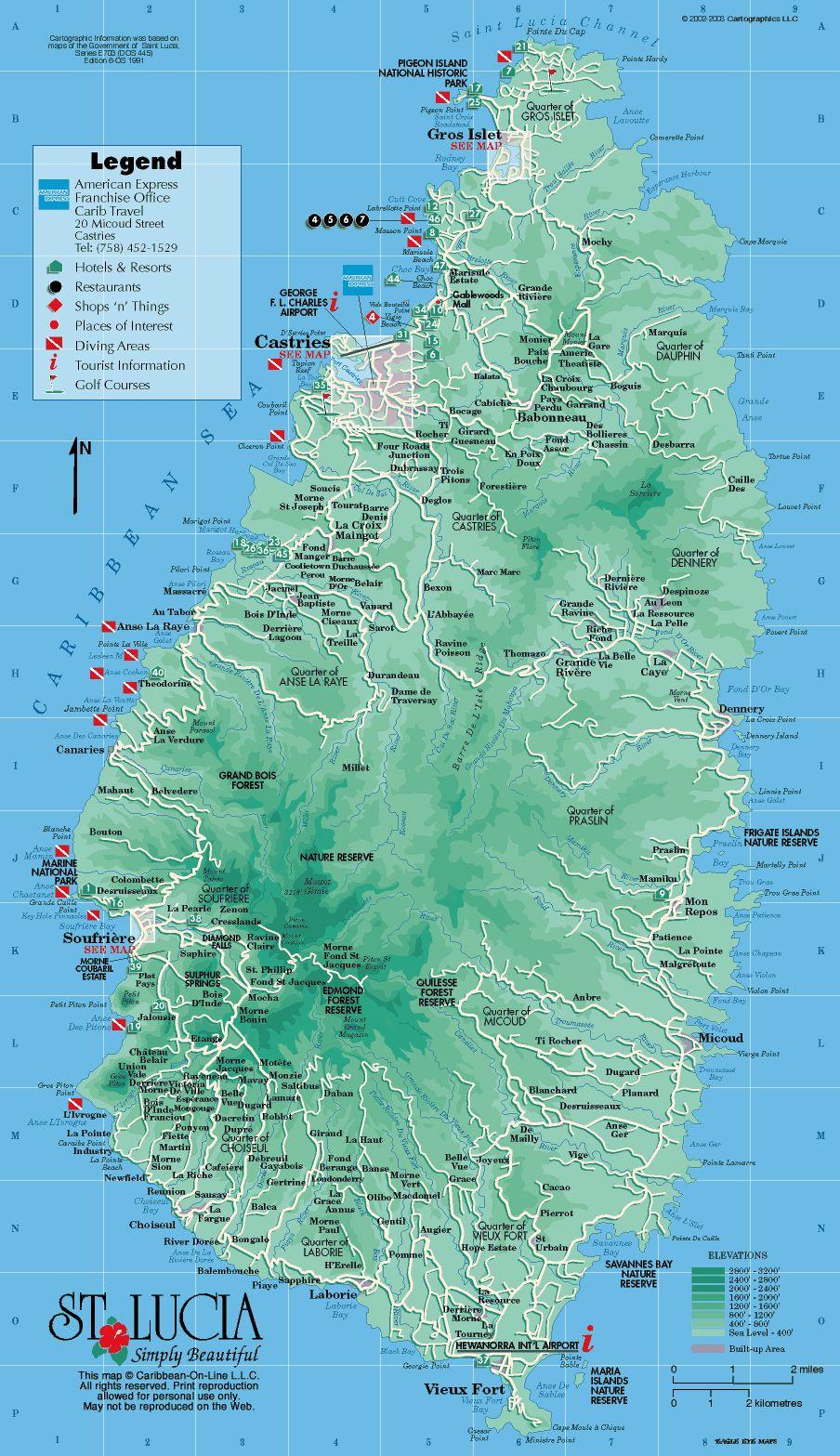 Road Map Of Jamaica
