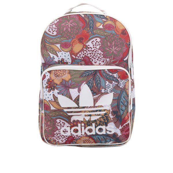 amazon cumpărarea de noi la preț mic Reduceri -20% Rucsac Adidas Originals roșu cu model floral ...
