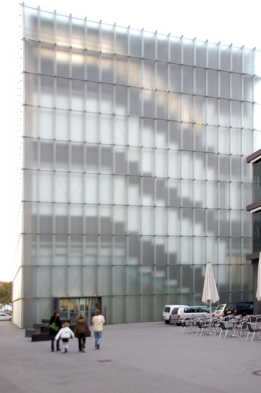 .Kunsthaus Bregenz Museum, Peter Zumthor Enveloppe