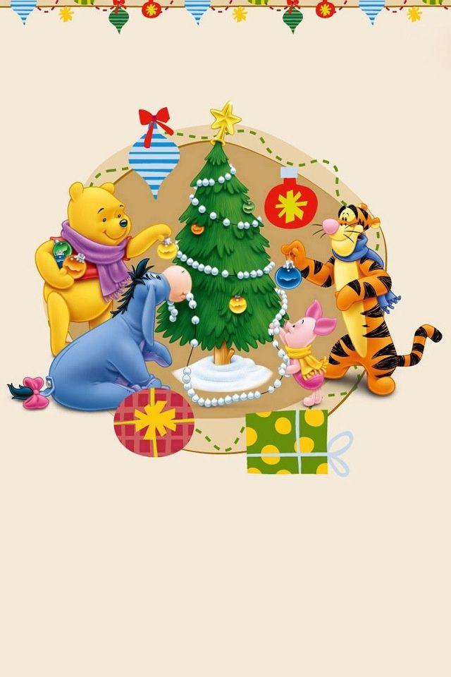 Winnie the Pooh/Christmas Wallpaper Pinterest Winnie the Pooh