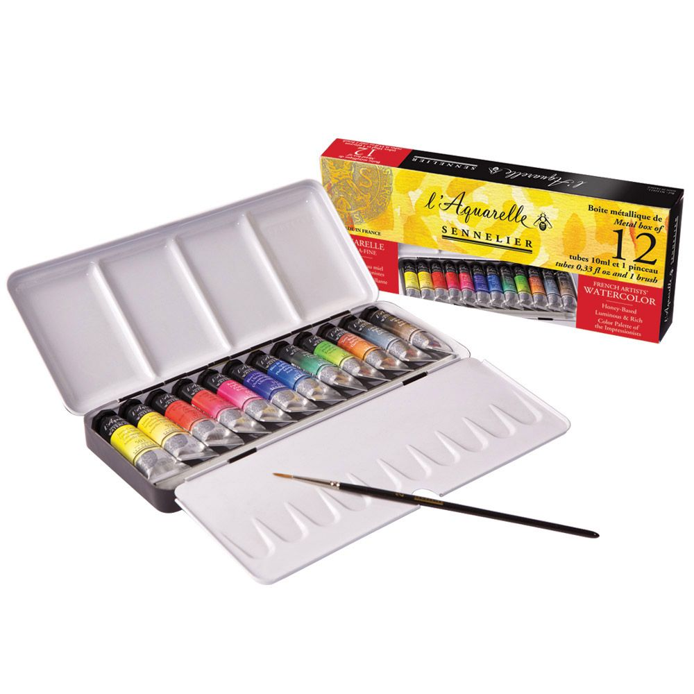 Sennelier I Aquarelle French Artists Watercolor Paints Honey
