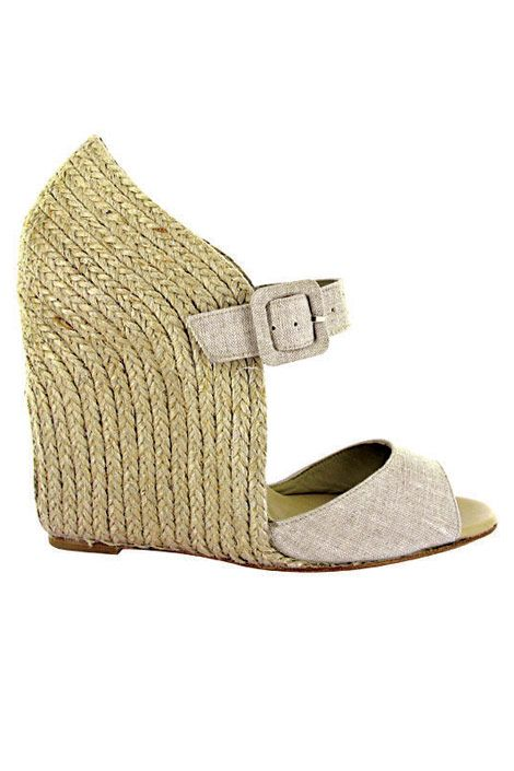 Panier 120 wedge sandals, Christian Louboutin, $545