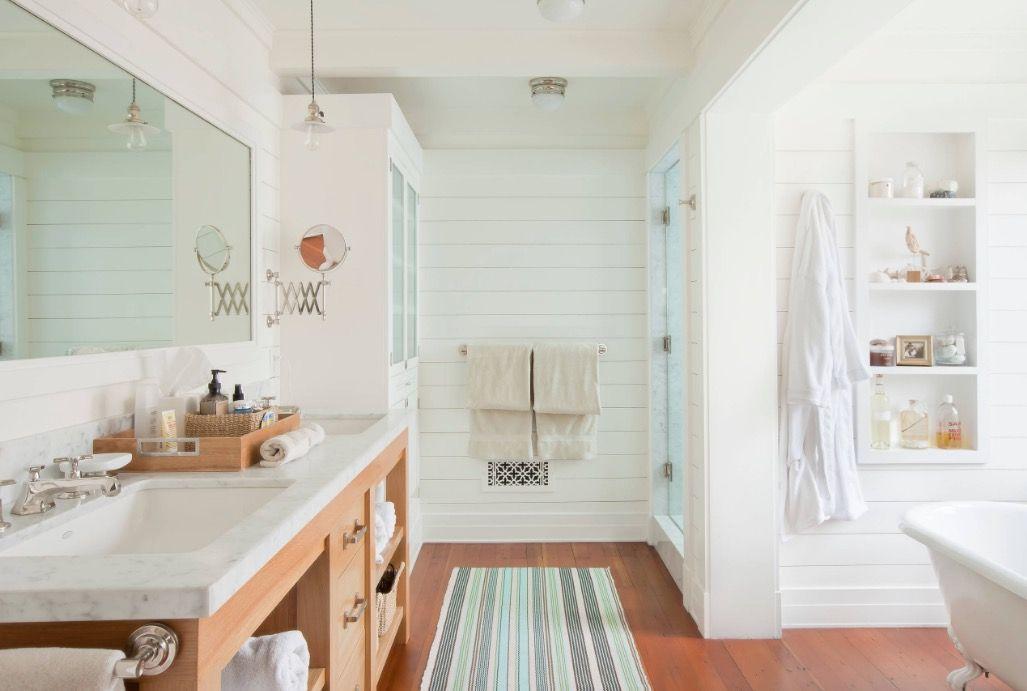 The 4 Essential Components To A Heavenly Guest Bathroom Craftsman Bathroom Bathroom Design Inspiration Beach House Bathroom