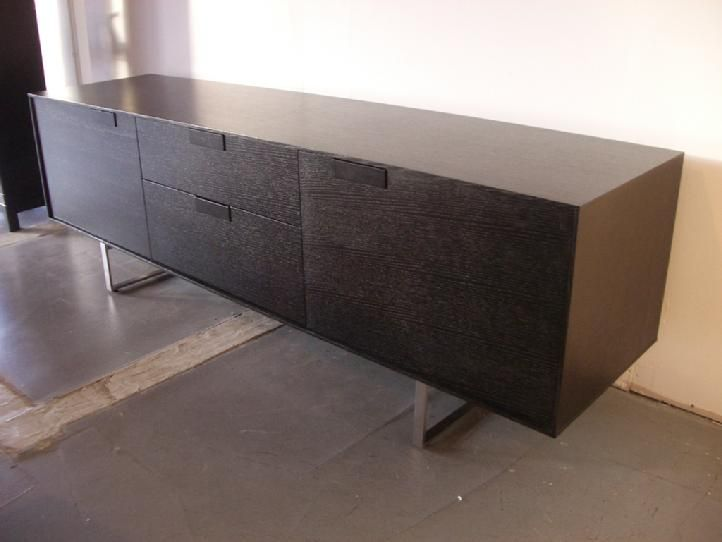 """Series 11 2-Door 2-Drawer Console. $1,999. 84""""L x 21""""W x 27""""H.- Area 51 Seattle"""
