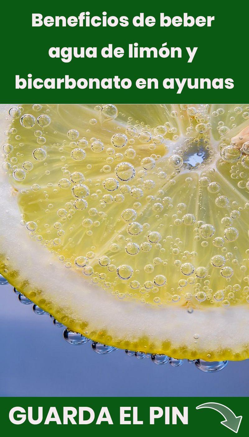 beneficios de beber bicarbonato con limon en ayunas