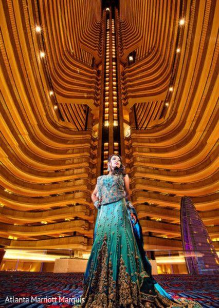 The Atlanta Marriott Marquis Wedding Venue Www Partyista