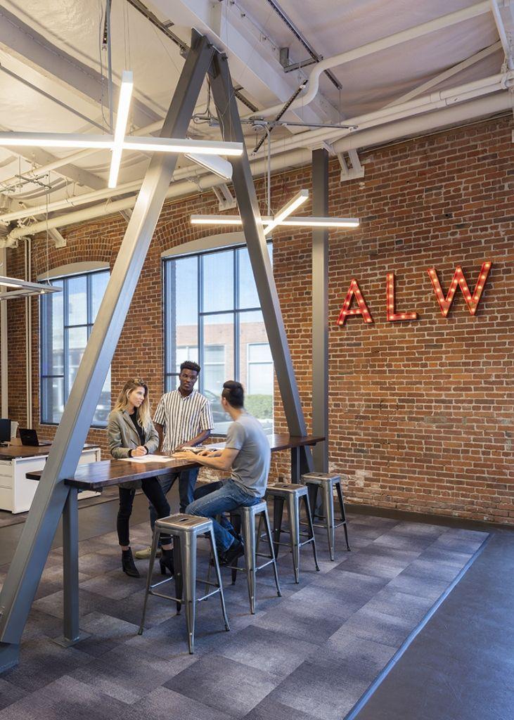 ALW | Cool U0026 Modern Office Lighting   ALW HQ, Oakland