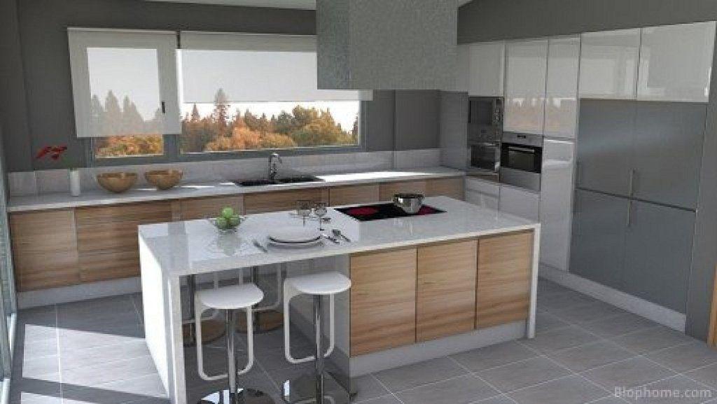 Cocina abierta al salon buscar con google cuina for Cocinas y salones abiertos
