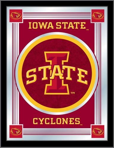 Iowa State Cyclones Logo Mirror Wall Art This Wall Decoration