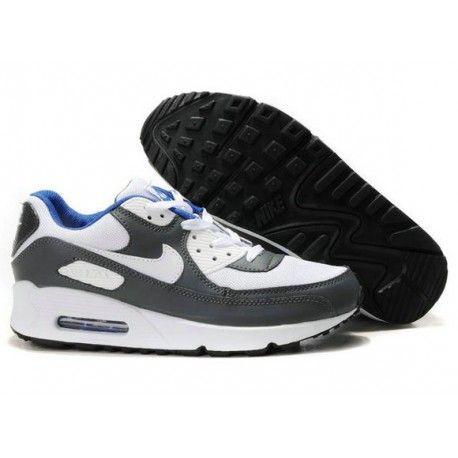 the best attitude e3417 b8b4f nike air max 90 grey and blue,Mens Cheap Nike Air Max 90 Trainers Grey White  Blue