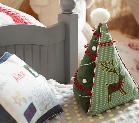 Santa's Sleigh Flannel Sheet Set