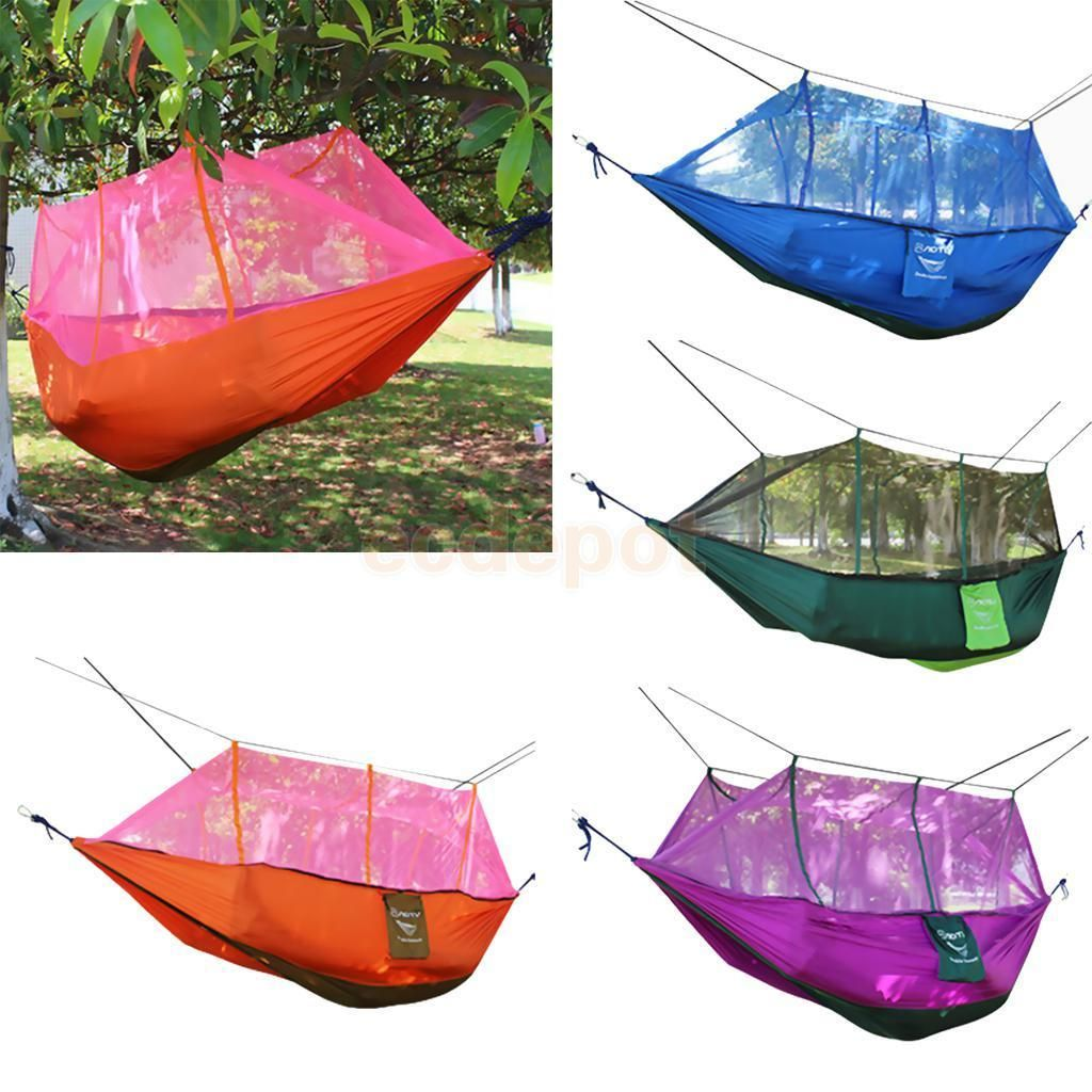Outdoor camping double hammock tree person patio bed swing with