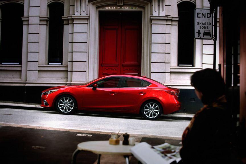 Russ Darrow Mazda >> 新型「Mazda3(日本名:アクセラ)」セダン北米仕様車   codo   Mazda 3、Mazda、Vehicles