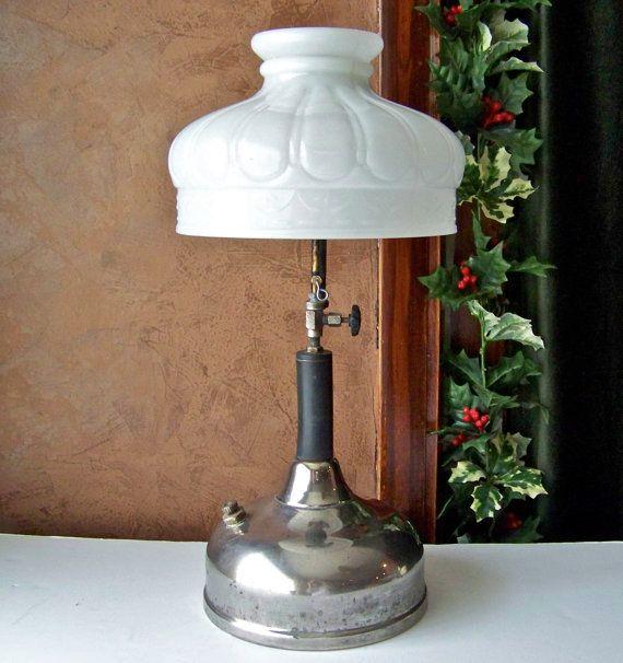 Antique Coleman Quick Lite Gas Lamp 1920s Gas By Cynthiasattic