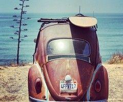 Vdub love beach