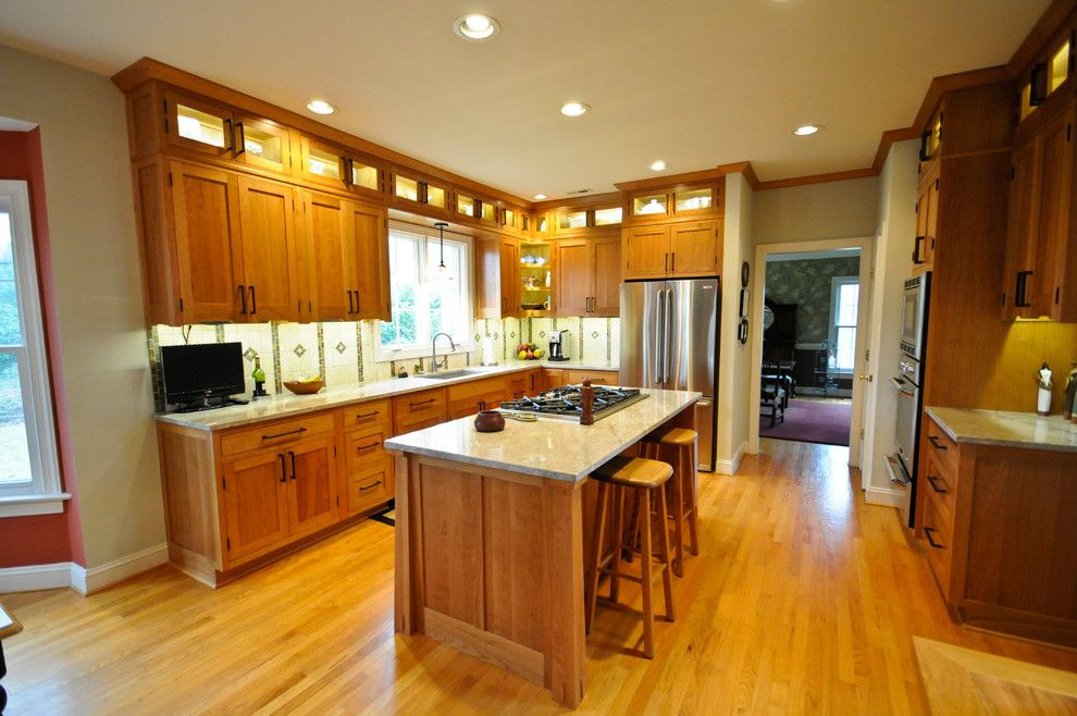 Image by: Cherry Hill Cabinetry | Craftsman kitchen ...