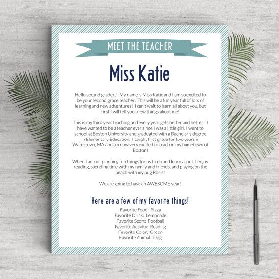Elementary Teacher Resume Template for Word \ Pages, 1 - 3 Pages - mac pages resume templates
