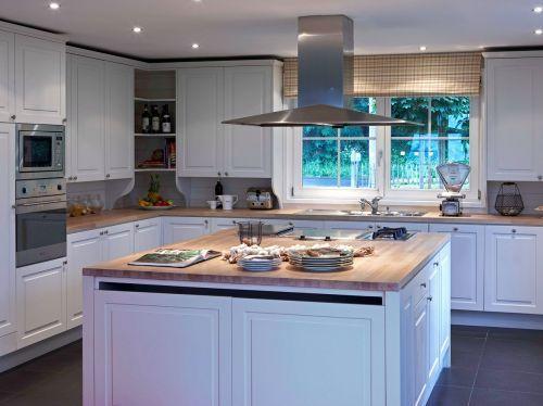 Cuisine avec ilot central dream house kitchen pinterest cuisine ave - Cuisine avec ilot centrale ...