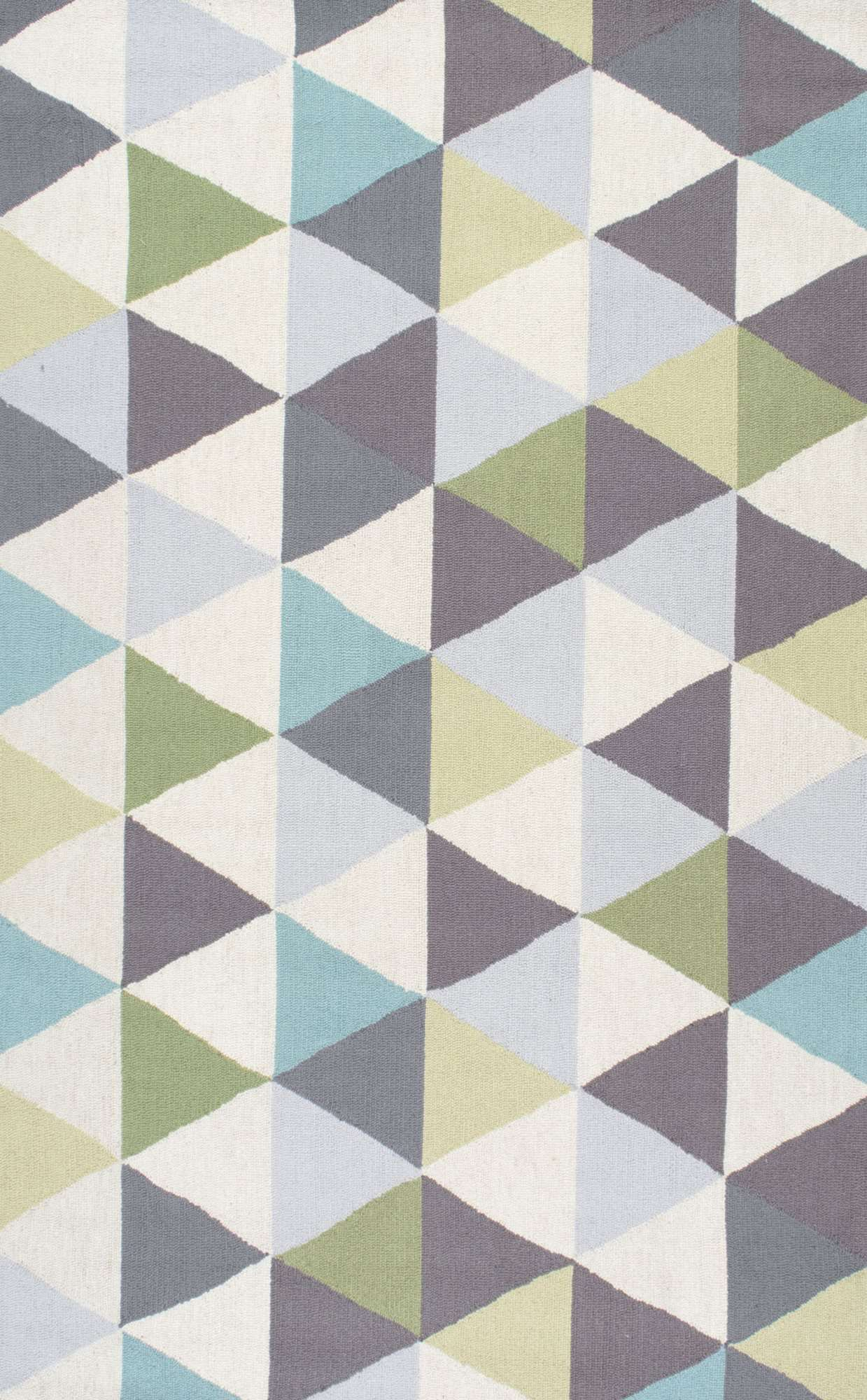Homespunhk110 Dimensional Triangles Rug Eat In Kitchen