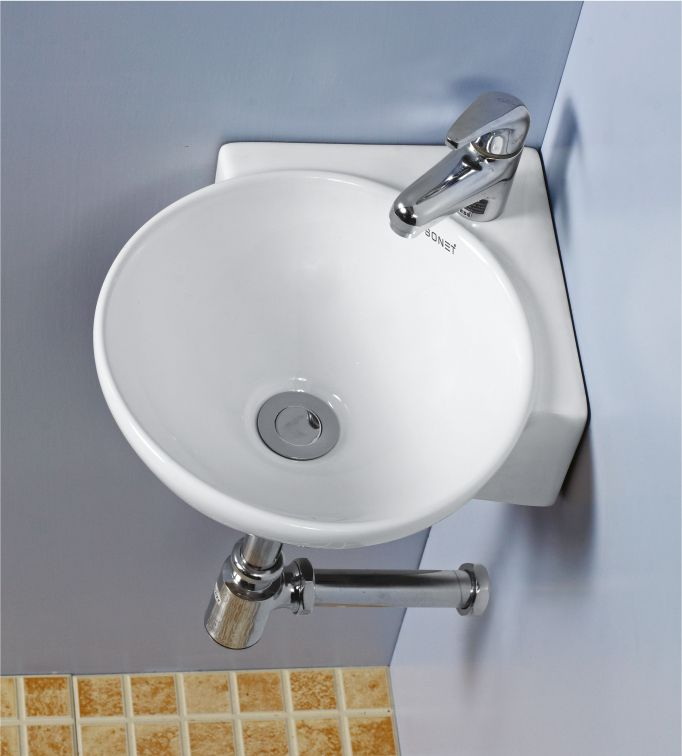 This is Corner Wash Basin from Sonet India. For more information ...