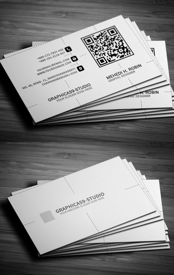 Business Cards Design: 50+ Amazing Examples to Inspire You - 27 ...