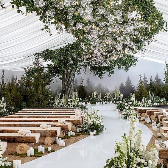 60+ Outdoor Wedding Ideas That Will Make Your Wedding Wonderful - Page 40 of 61 #ceremonyideas