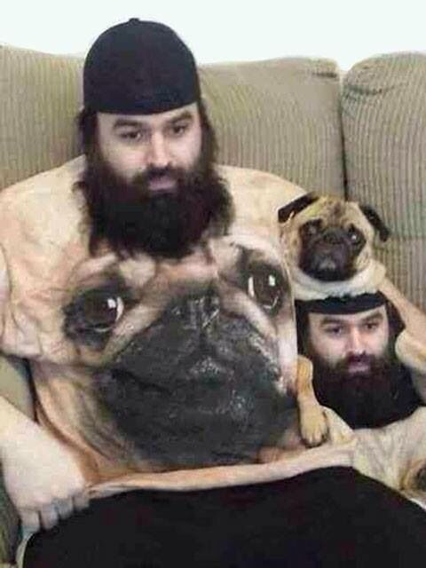 Dog And Owner Matching Shirts Of One Another Funny Dog Shirts