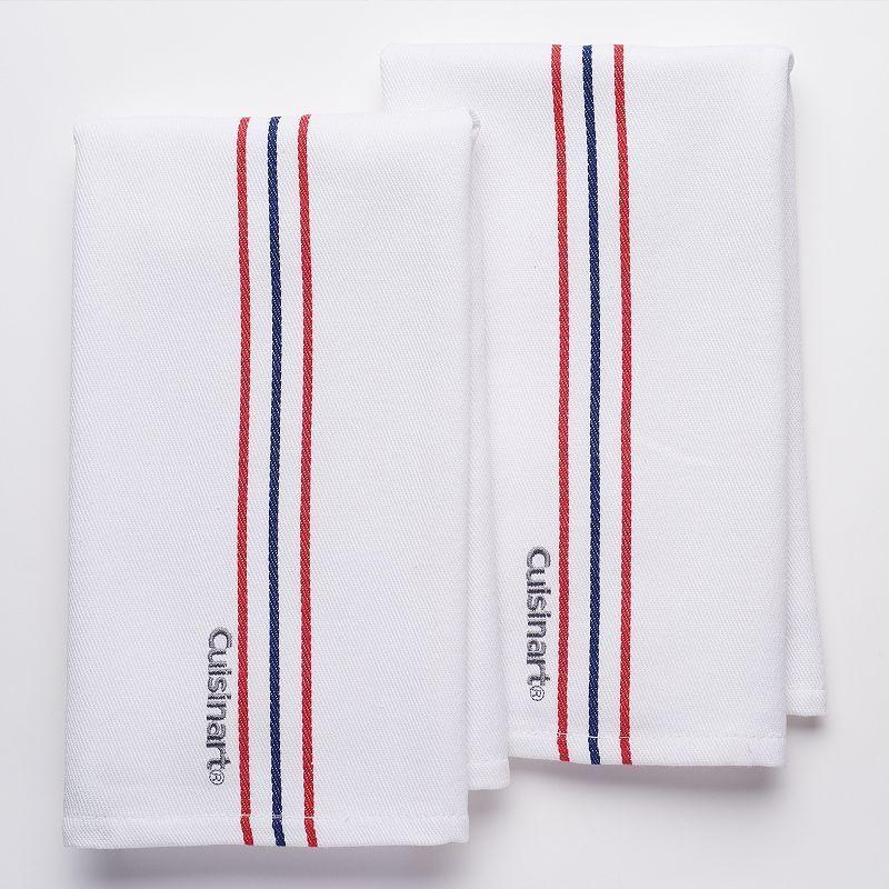 Cuisinart Yarn Dye Kitchen Towel 2-pk., Multicolor