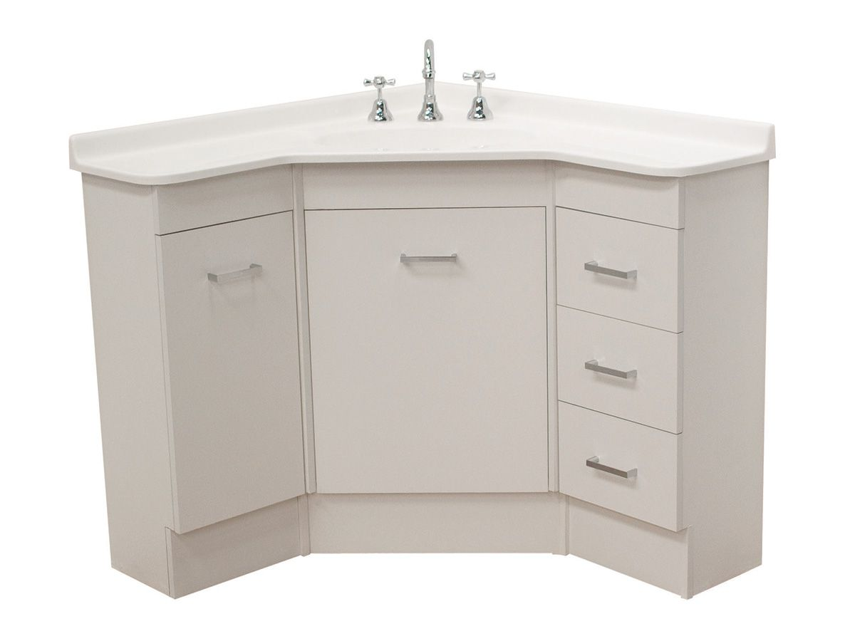 Base 915 Corner Vanity Unit From Reece