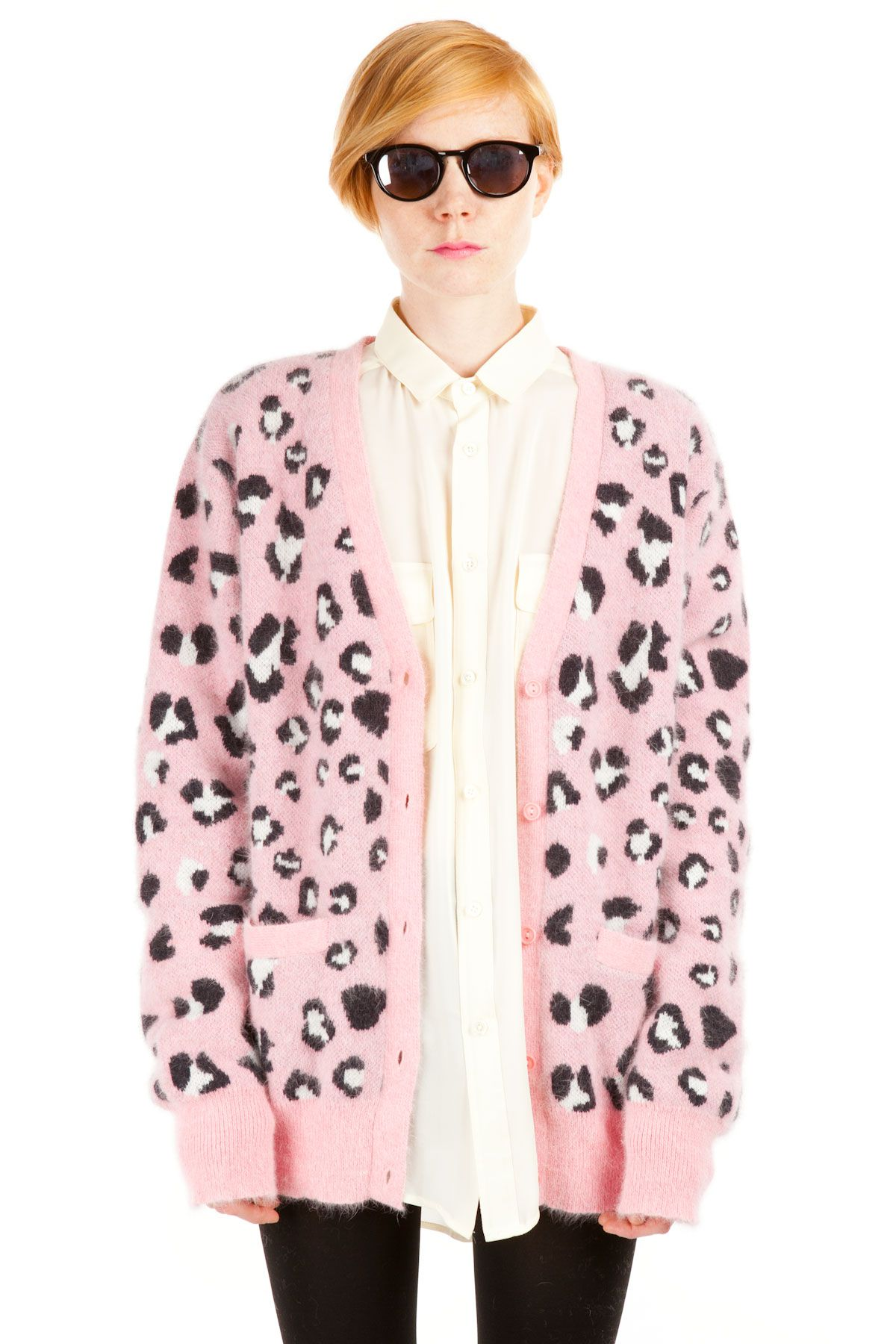 Chloe Sevigny for Opening Ceremony Leopard Cardigan | Clothes ...