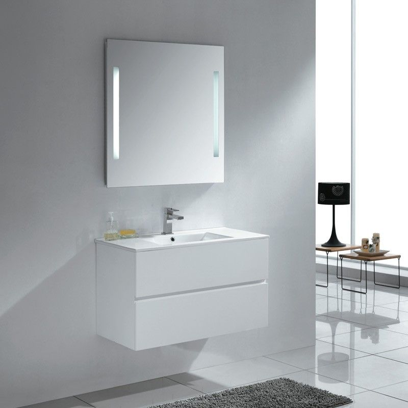 Madero 900mm Bathroom Vanity White