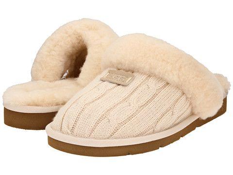 Ugg cozy knit cream at 6pm.com. Cream SlippersUgg SlippersWomens ...