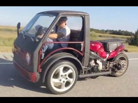 CarraBusa Enclosed Reverse Trike - YouTube | Projects to Try