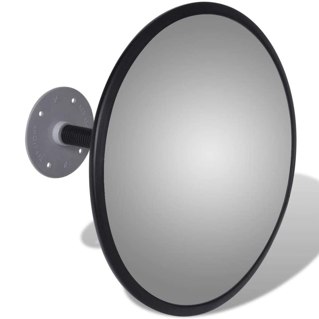 Photo of Convex Traffic Mirror Acrylic Black 30 cm Indoor