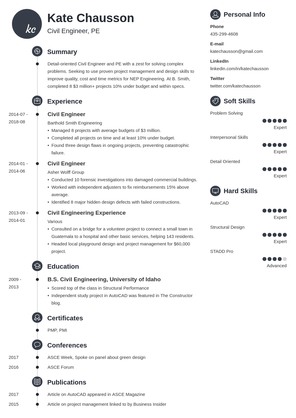 civil engineering resume example template primo in 2020