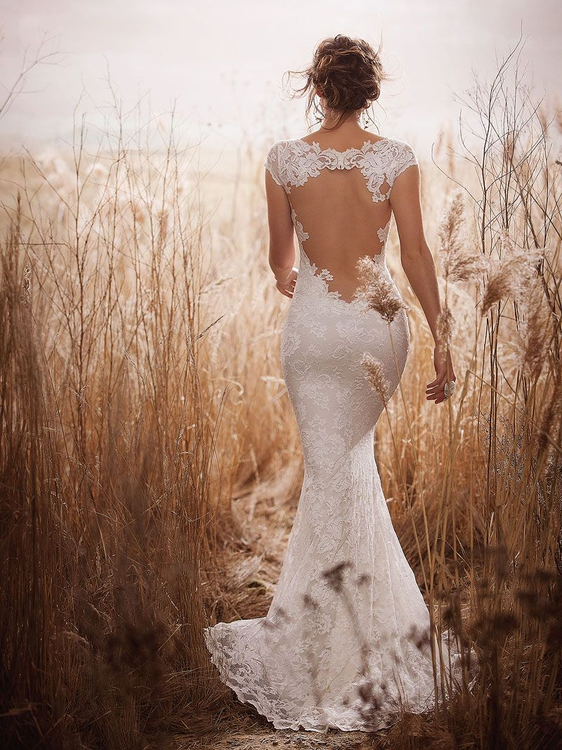 The Olvis Tatianna gown is a beautiful wedding dress made of ...